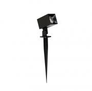 ESPETO LED STELLA STH8723/30 HIDE QUADRADO 5W 3000K IP65 BIVOLT PRETO