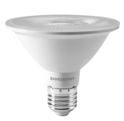 LÂMPADA LED PAR30 10W 6500K CLEAR SAVE ENERGY SE-115.1463