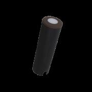 Mini Balizador LED Romalux 10064 0,4W 2700K IP66 Bivolt Ø26x79mm Marrom Corten