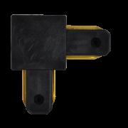 """Trilho Eletrificado BLight BL6009 Conector Emenda """"L"""" Preto"""