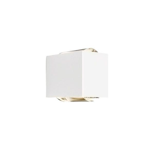 ARANDELA LED NEWLINE SNT023LED2 LENS LENTE/VIDRO 12W 2700K 220V 85X111X92MM