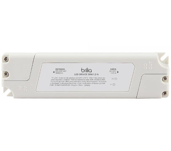 DRIVER LED 24V 30W 1,25A IP20 100-240V BRILIA 301696