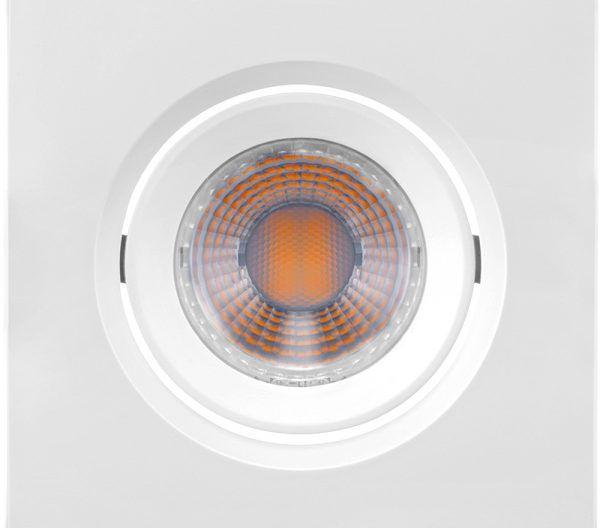 EMBUTIDO DOWNLIGHT LED QUADRADO MR11 3W 6500K BRILIA 435892