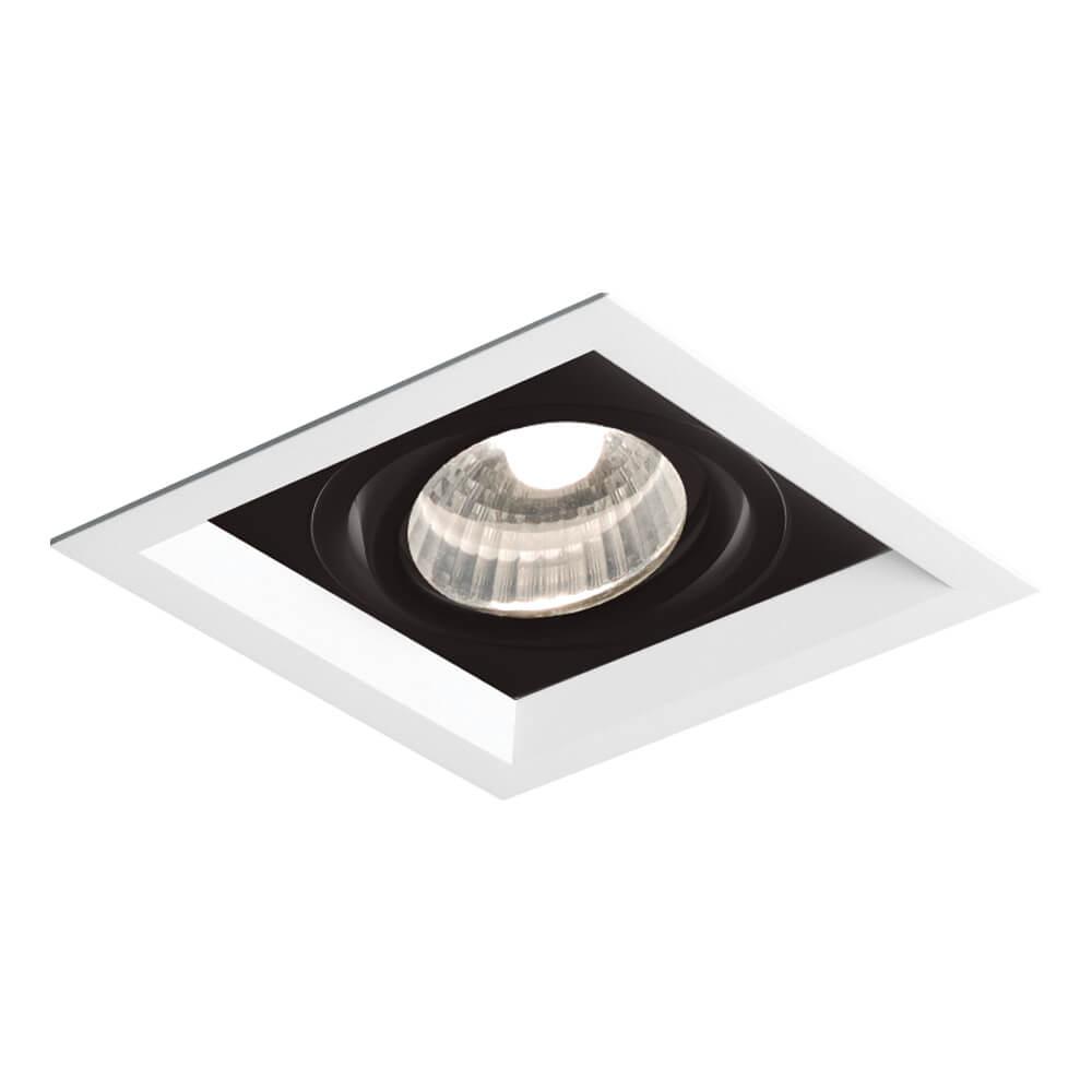 Spot Embutir Newline IN50331 Recuado II 1L PAR20 E27 138x138x120mm