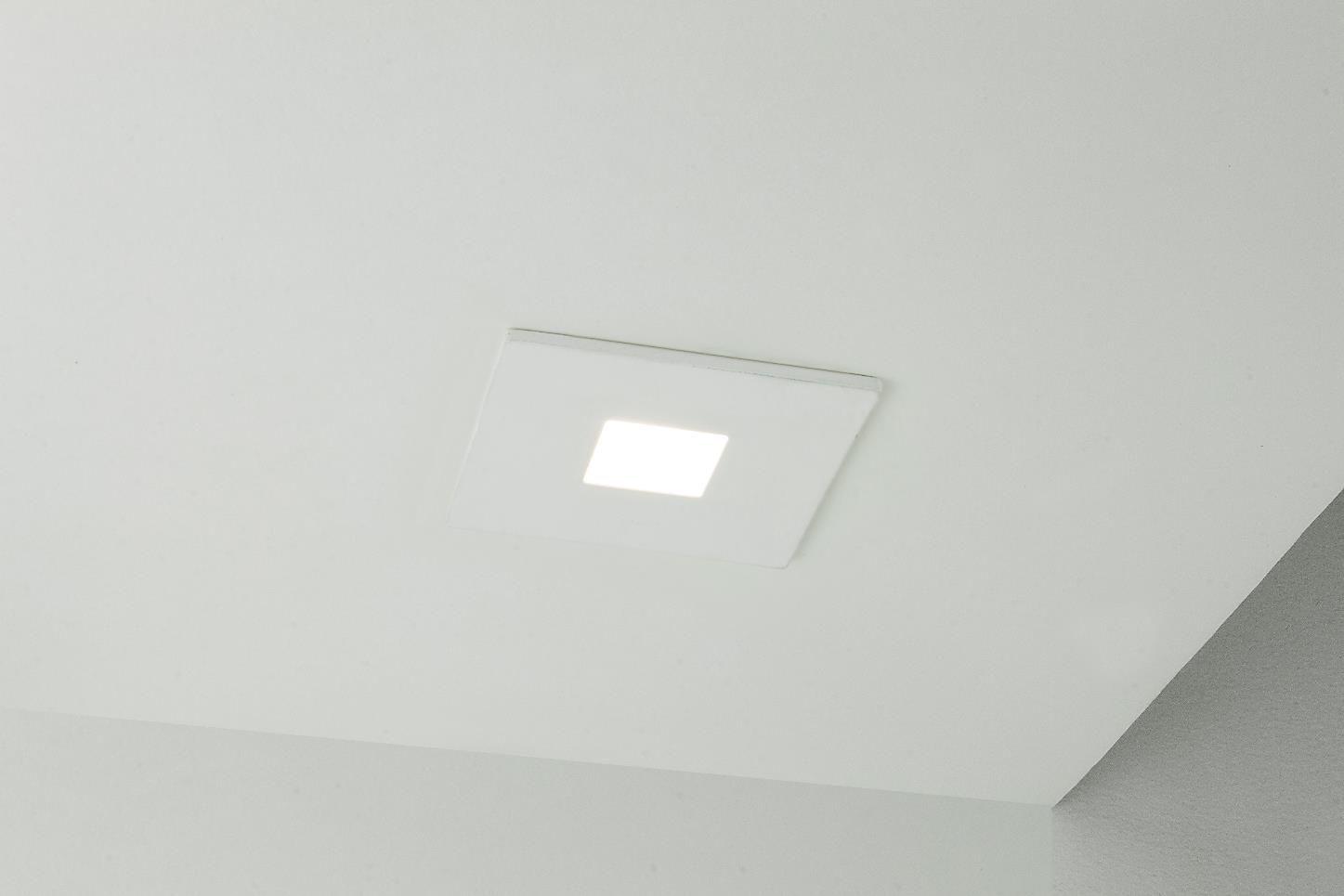 Spot Embutir NEWLINE IN50931 LISSE Pin Hole 1 Mini Dicróica GU10 63x63x70mm