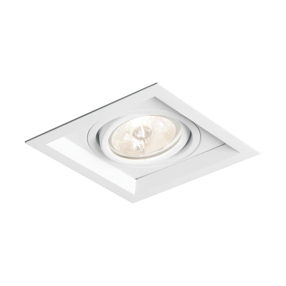 Spot Embutir Newline IN51351 Recuado II 1L AR111 GU10 179x179x85mm