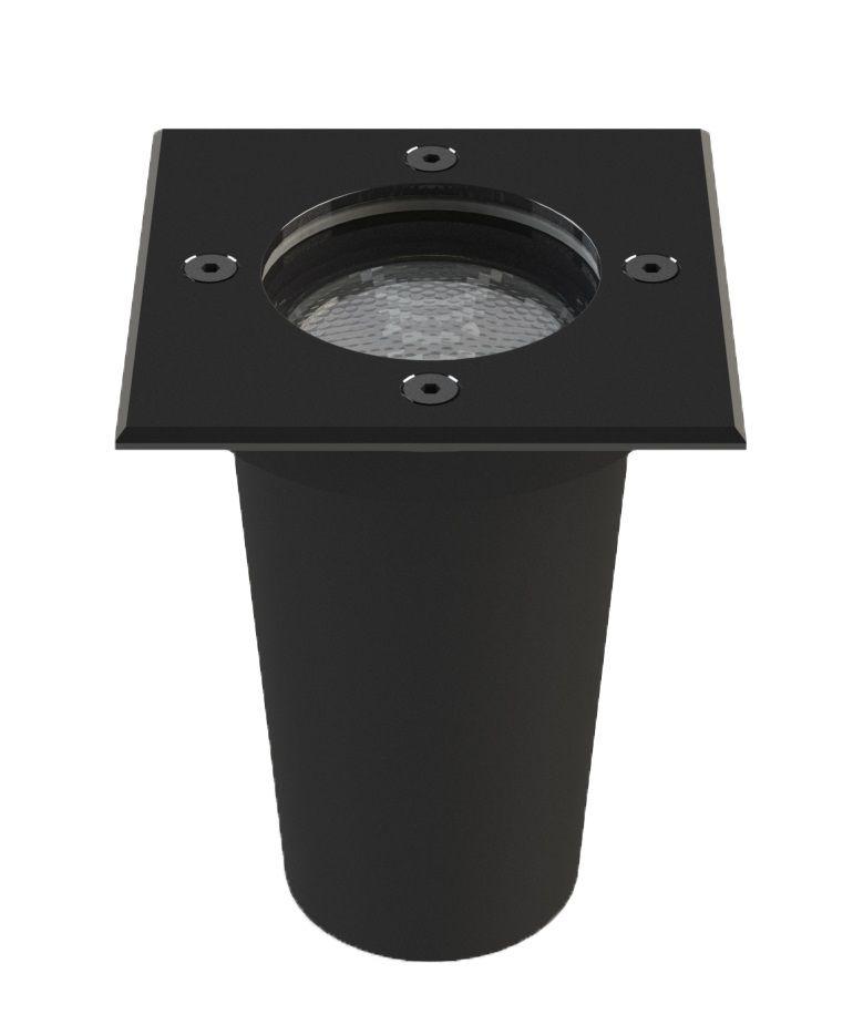 EMBUTIDO SOLO LED JET BLACK QUADRADO 8W 2700K SAVE ENERGY SE-335.1363