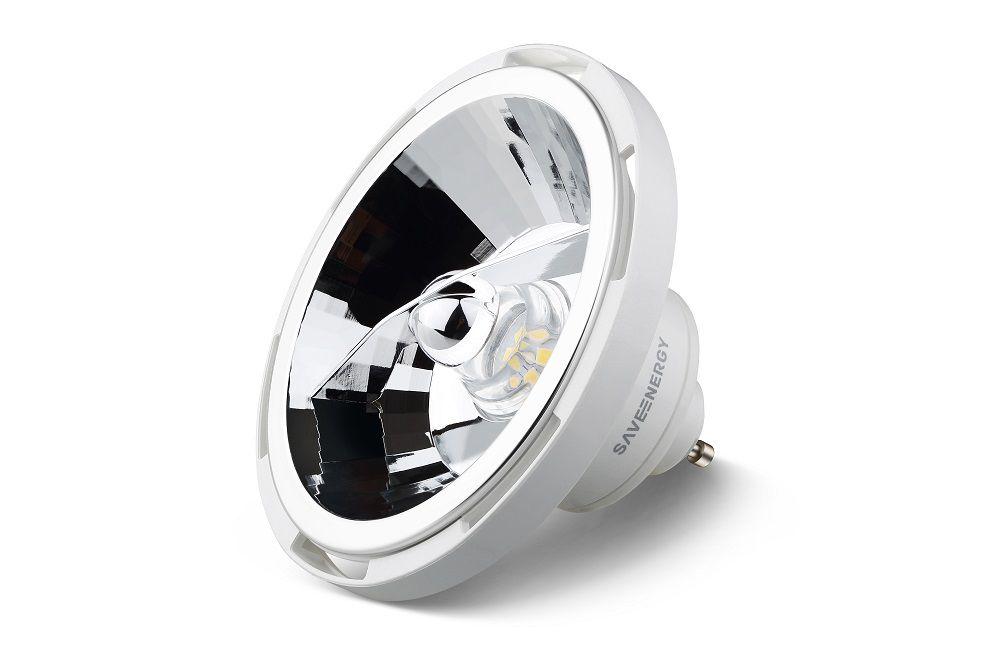 LÂMPADA LED AR111 13W 2700K 24° SAVE ENERGY SE-105.529