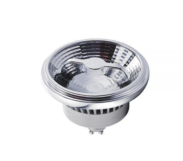 LÂMPADA LED AR111 9,5W 2700K 20° 220V GU10 BRILIA 434529