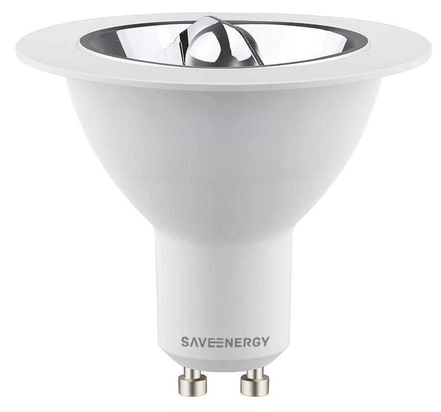 LÂMPADA LED AR70 8W 2700K 24° SAVE ENERGY SE-100.530