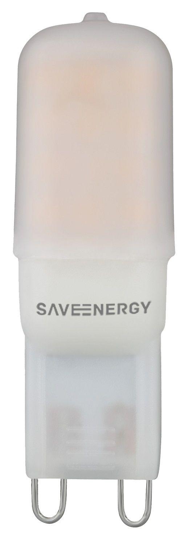 Lâmpada LED Halopin G9 2W 2700K 127v Save Energy SE-265.507