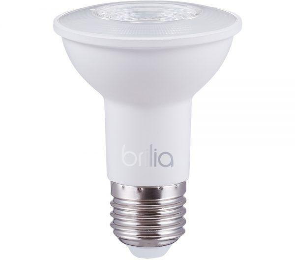 LÂMPADA LED PAR20 5,5W 2700K E27 BRILIA 301443