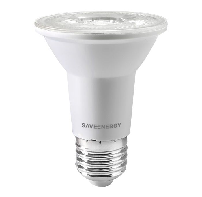 LÂMPADA LED PAR20 7W 6500K CLEAR SAVE ENERGY SE-110.1461