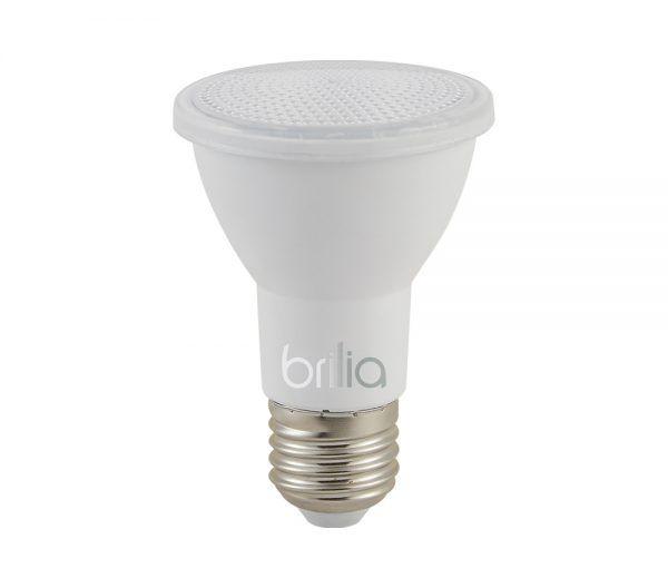 LÂMPADA LED PAR20 IP65 6W 2700K E27 BRILIA 437414