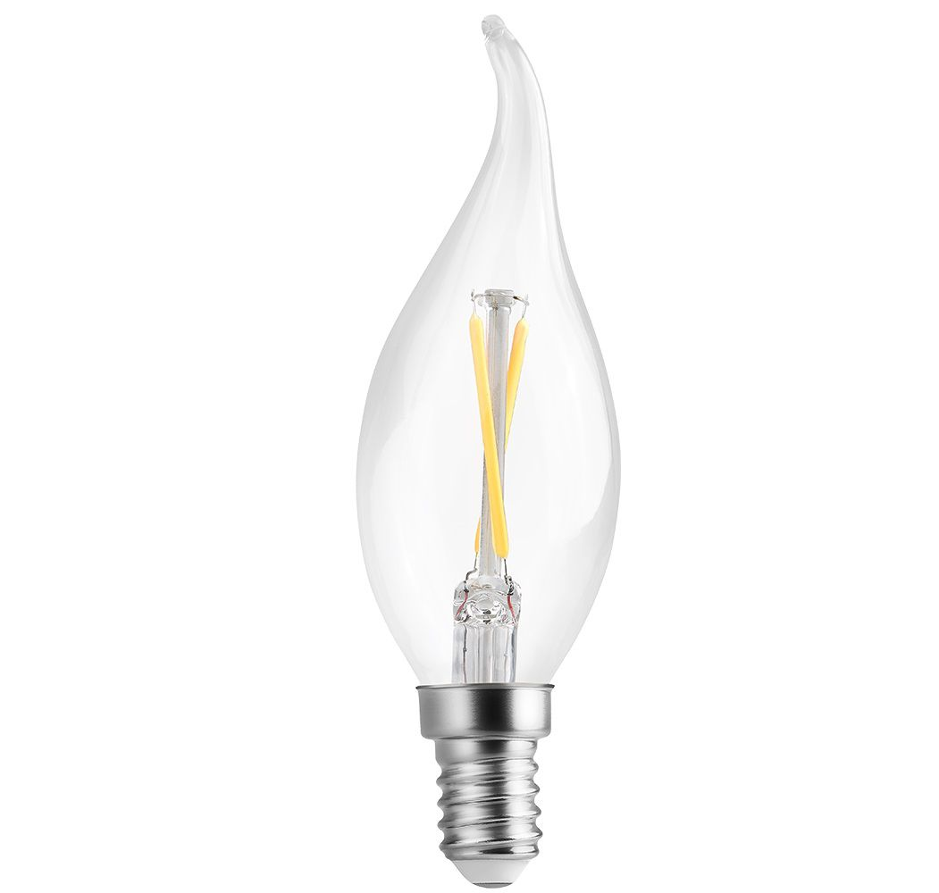 LÂMPADA LED VELA CHAMA FILAMENTO E14 2W 2400K 127V SAVE ENERGY SE-210.1026