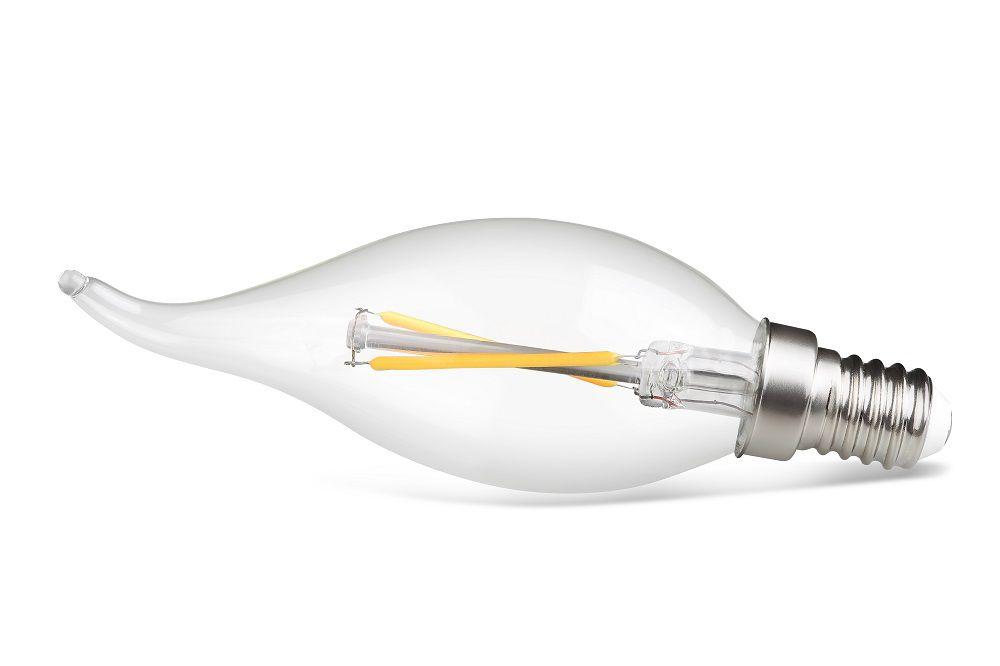 LÂMPADA LED VELA CHAMA FILAMENTO E14 2W 2400K 220V SAVE ENERGY SE-210.1027
