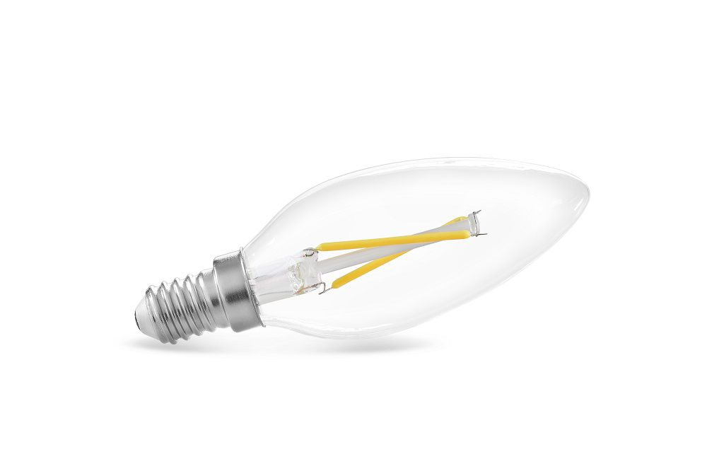 LÂMPADA LED VELA FILAMENTO E14 2W 2400K 127V SAVE ENERGY SE-200.1028