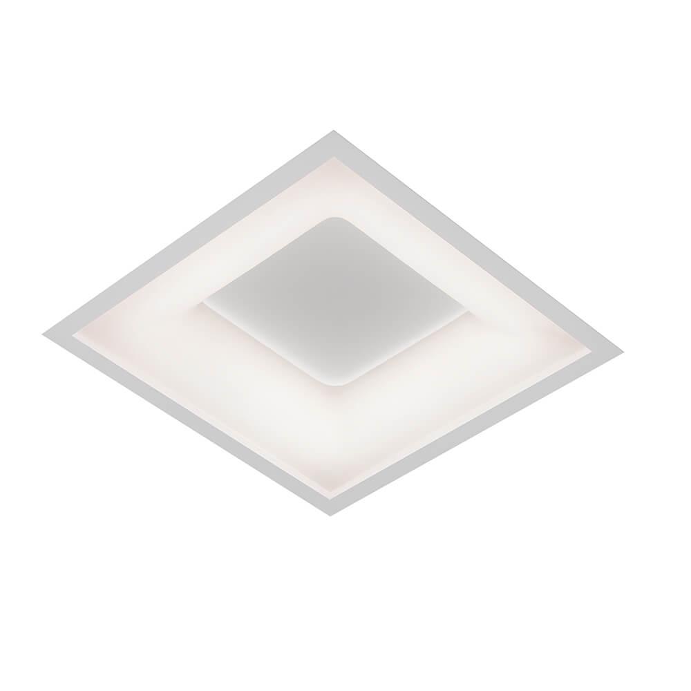 Luminária Embutir LED Newline 472LED3 New Massu 33,6W 3000K Bivolt 490x490x67mm