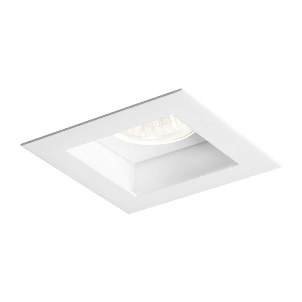 Luminária Embutir Spot Newline IN65002 Flat 1L Dicróica/PAR16 GU10 90x90x85mm
