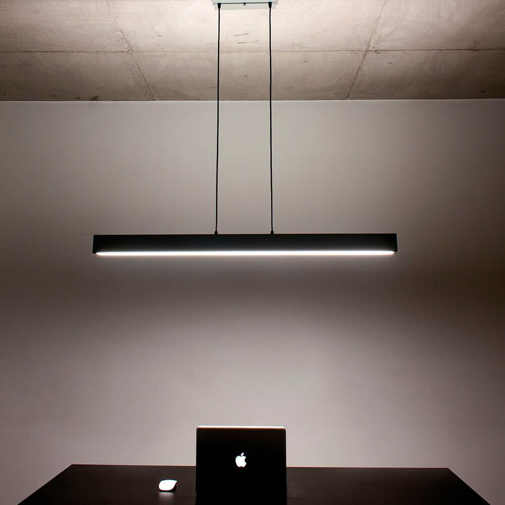 PENDENTE LED NEWLINE 468LED3 SOBREPOR V 50W 3000K BIVOLT 1170X75X70MM - UP/DOWN LIGHT