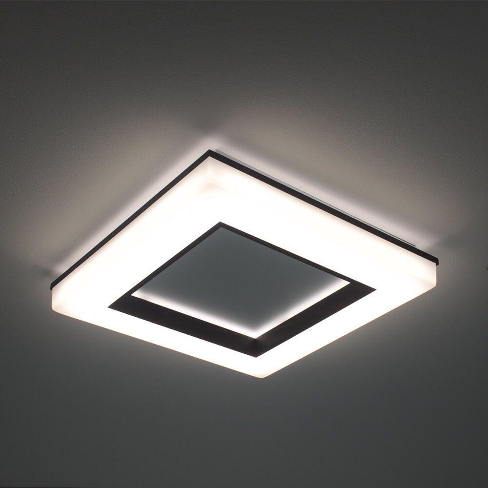 PLAFON LED NEWLINE 492LED3 PIXEL 40W 3000K BIVOLT 470X470X70MM