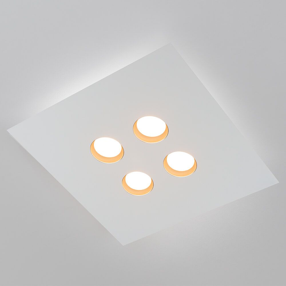 PLAFON LED NEWLINE 521LED1 DOMINO 24W 2700K 127V 450X450X48MM