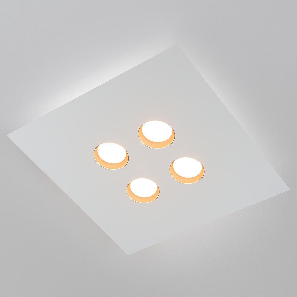 PLAFON LED NEWLINE 521LED2 DOMINO 24W 2700K 220V 450X450X48MM
