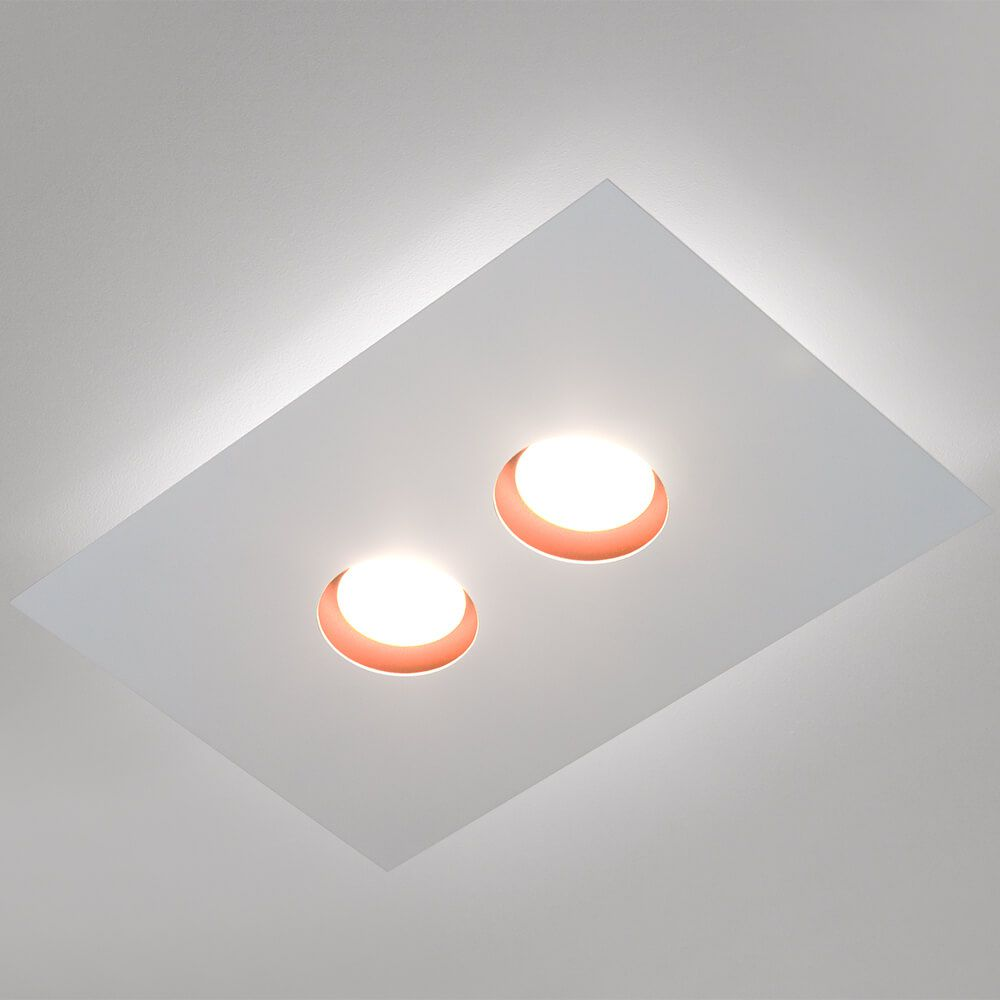PLAFON LED NEWLINE 522LED2 DOMINO 12W 2700K 220V 400X250X48MM