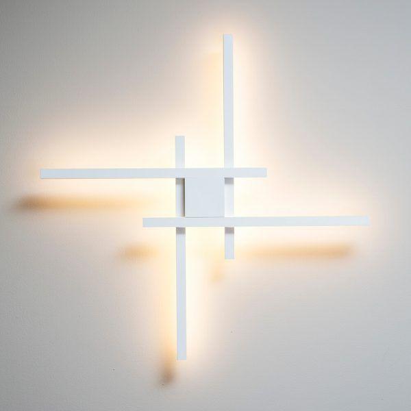 PLAFON LED NEWLINE 686LED4 FIT 48,8W 4000K BIVOLT 865X865MM