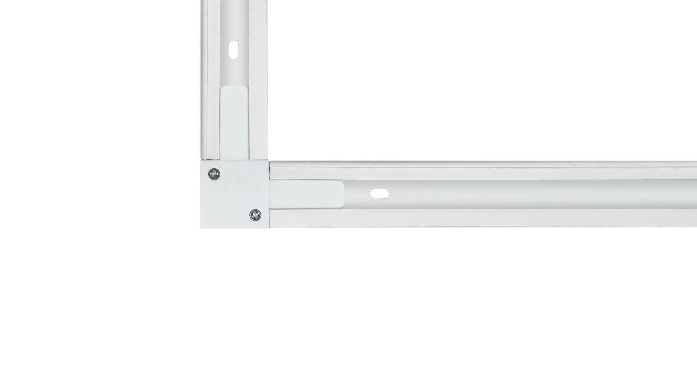 "Trilho Eletrificado Sobrepor Newline 931008 Conector ""L"" Branco"