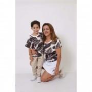 AVÓ E NETO > Kit 02 Peças - T-Shirts ou Body Cancun [Coleção Tal Avó Tal Neto]