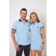 NAMORADOS > Kit 02 Peças Camisa + Vestido Polo Azul Nobreza [Coleção Namorados]