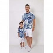 PAI E FILHO > 02 T-Shirts - Caribe  [Coleção Tal Pai Tal Filho]