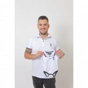 PAI E FILHOS > Kit 02 Peças Camisa + Body Polo - Branca  [Coleção Tal Pai Tal Filho]