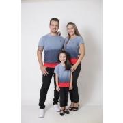 PAIS E FILHA > Kit 3 Peças T-Shirt - Degradê [Coleção Família]