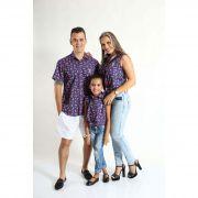 PAIS E FILHAS > Kit 3 peças Camisas Social Melancia [Coleção Família]