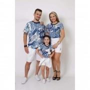 PAIS E FILHAS > Kit 3 Peças T-Shirt - Caribe [Coleção Família]