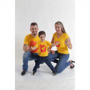 PAIS E FILHOS > Kit 3 peças Camisetas Amarelas Formiga HFB [Coleção Família]