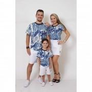 PAIS E FILHOS > Kit 3 Peças T-Shirt - Caribe [Coleção Família]
