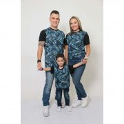 PAIS E FILHOS > Kit 3 Peças T-Shirt - Tropical [Coleção Família]