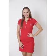 Vestido Polo Vermelho Paixão
