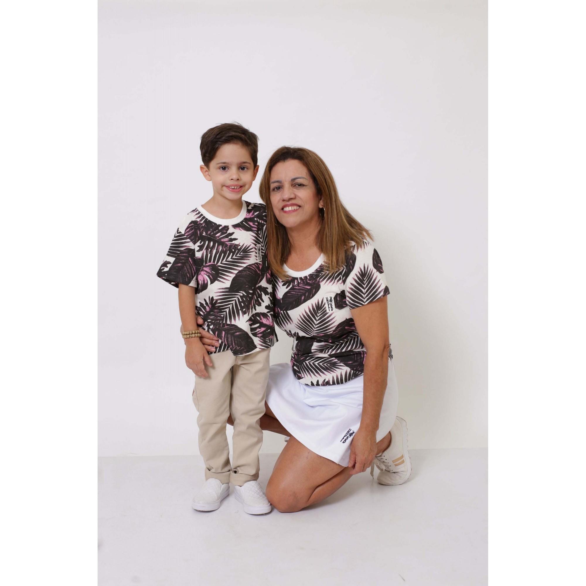 AVÓ E NETO > Kit 02 Peças - T-Shirts ou Body Cancun [Coleção Tal Avó Tal Neto]  - Heitor Fashion Brazil