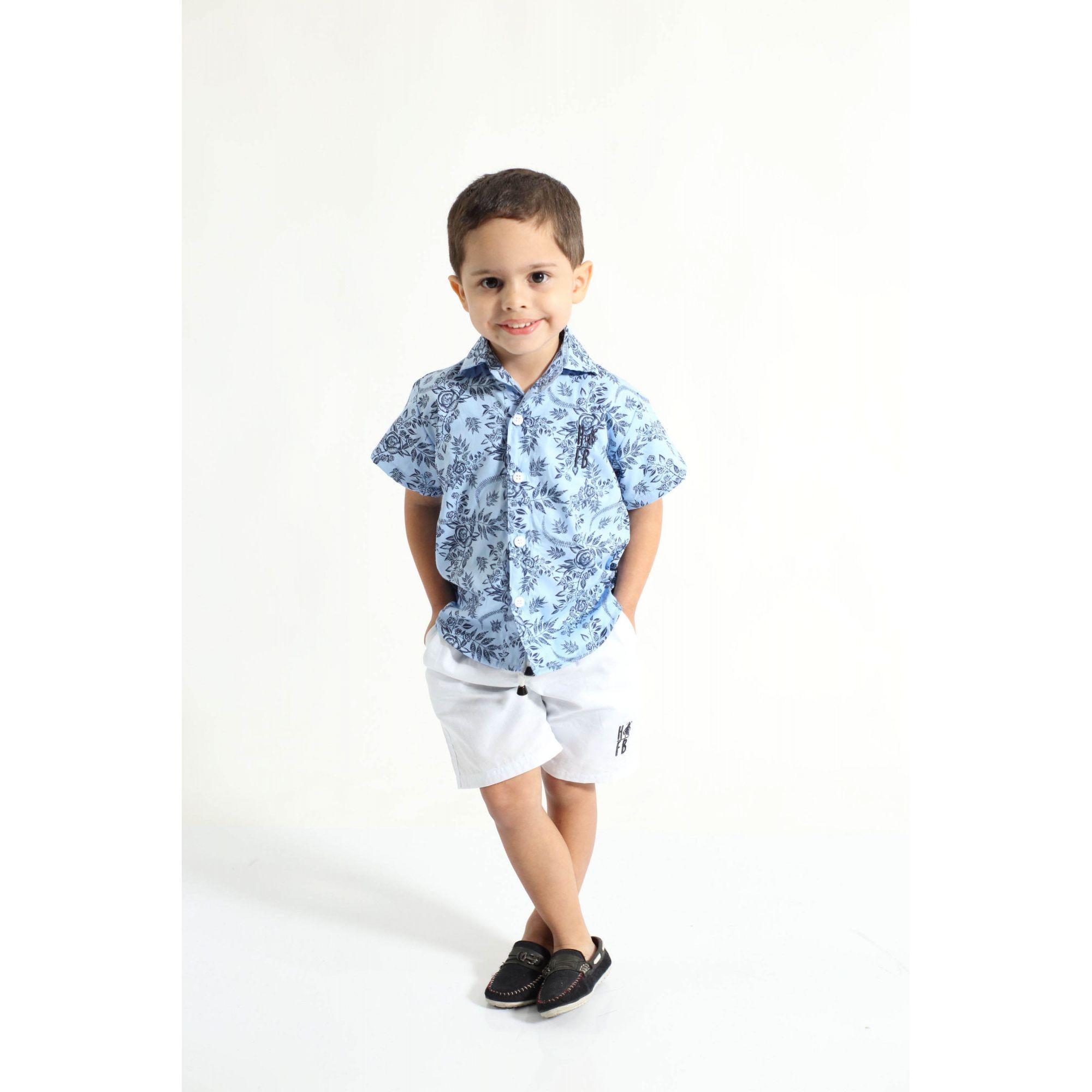 Bermuda Infantil Branca