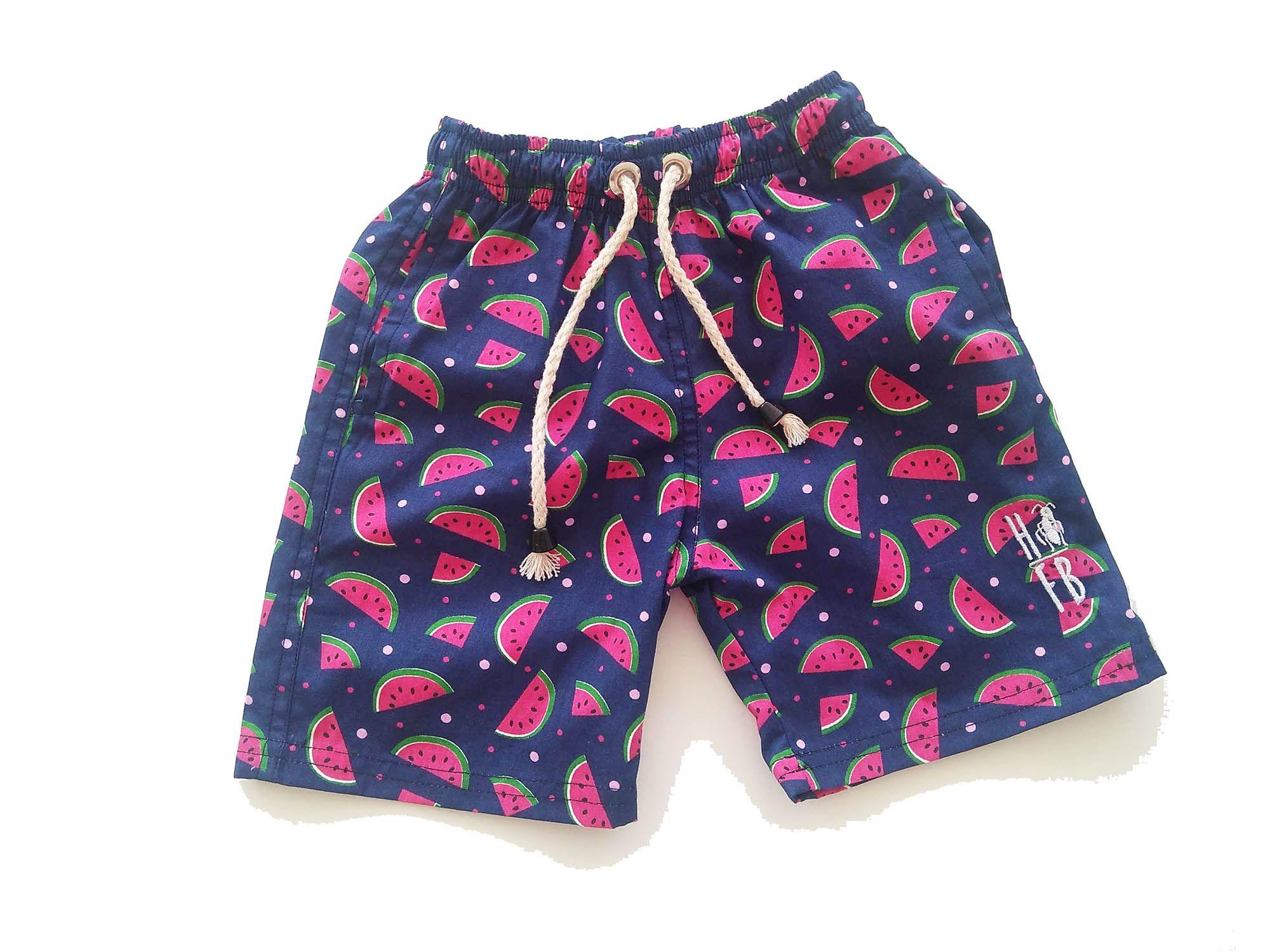 Bermuda Infantil Melancia  - Heitor Fashion Brazil