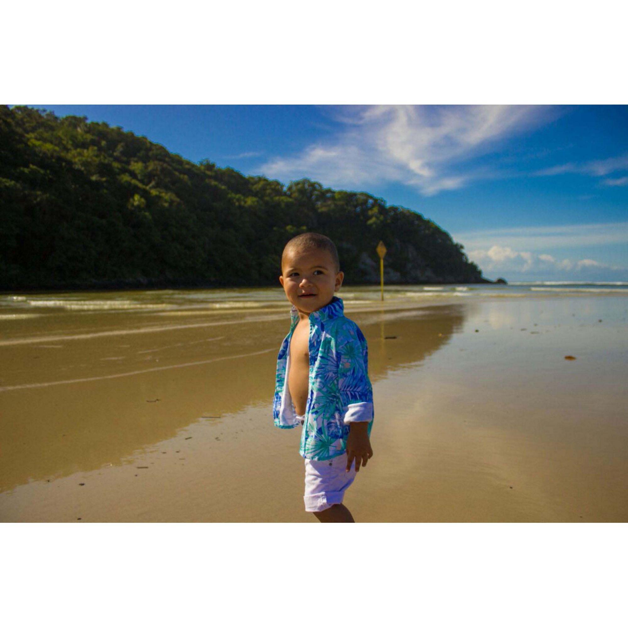 Camisa Social Floral Infantil  - Heitor Fashion Brazil