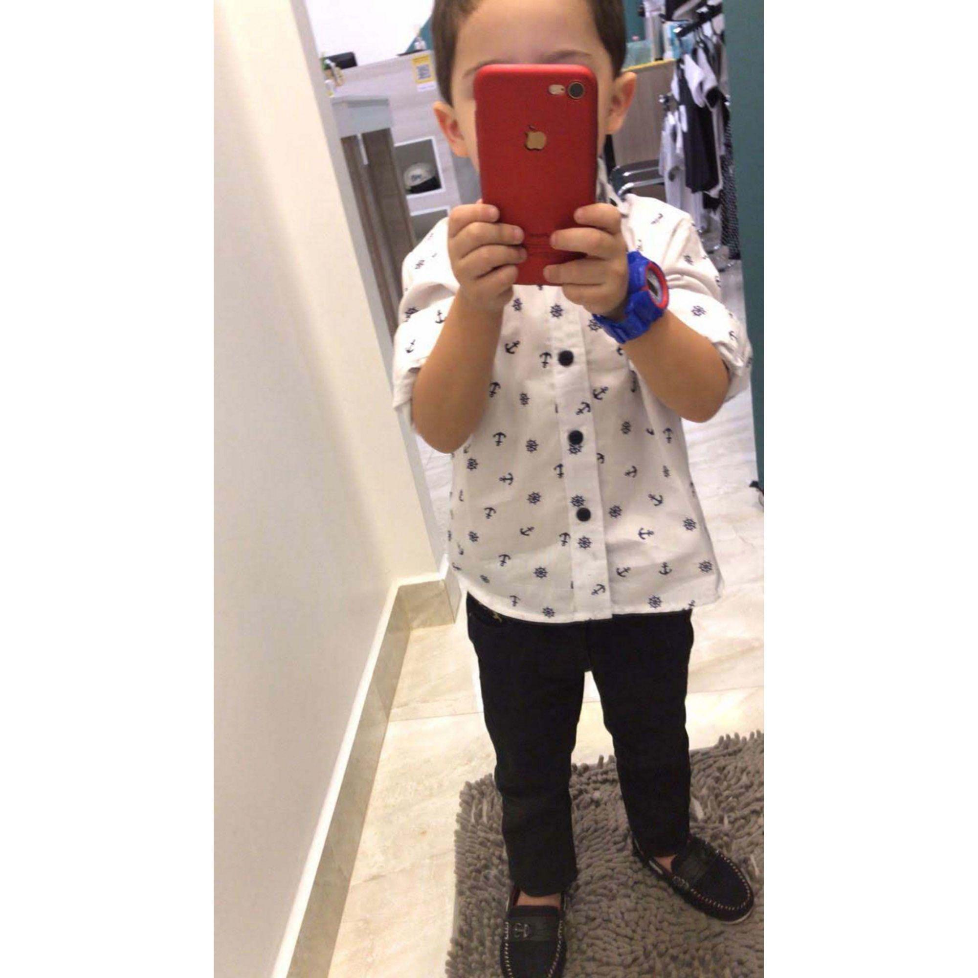 Camisa Social Marinheiro Infantil  - Heitor Fashion Brazil