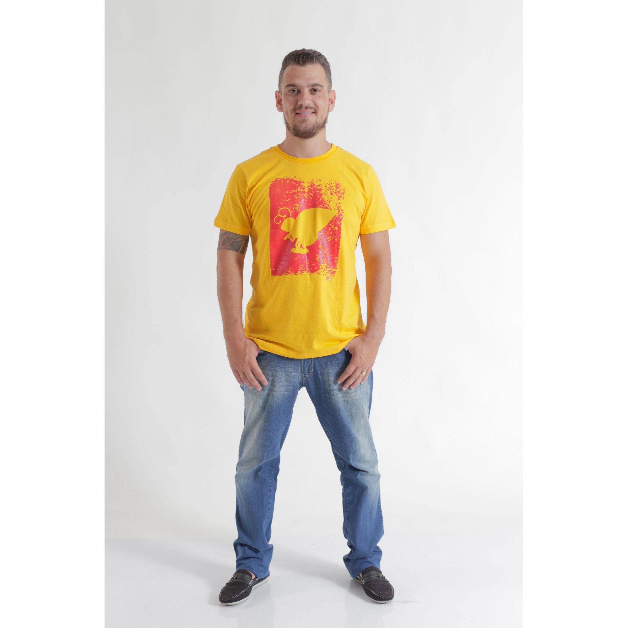 Camiseta Amarela HFB