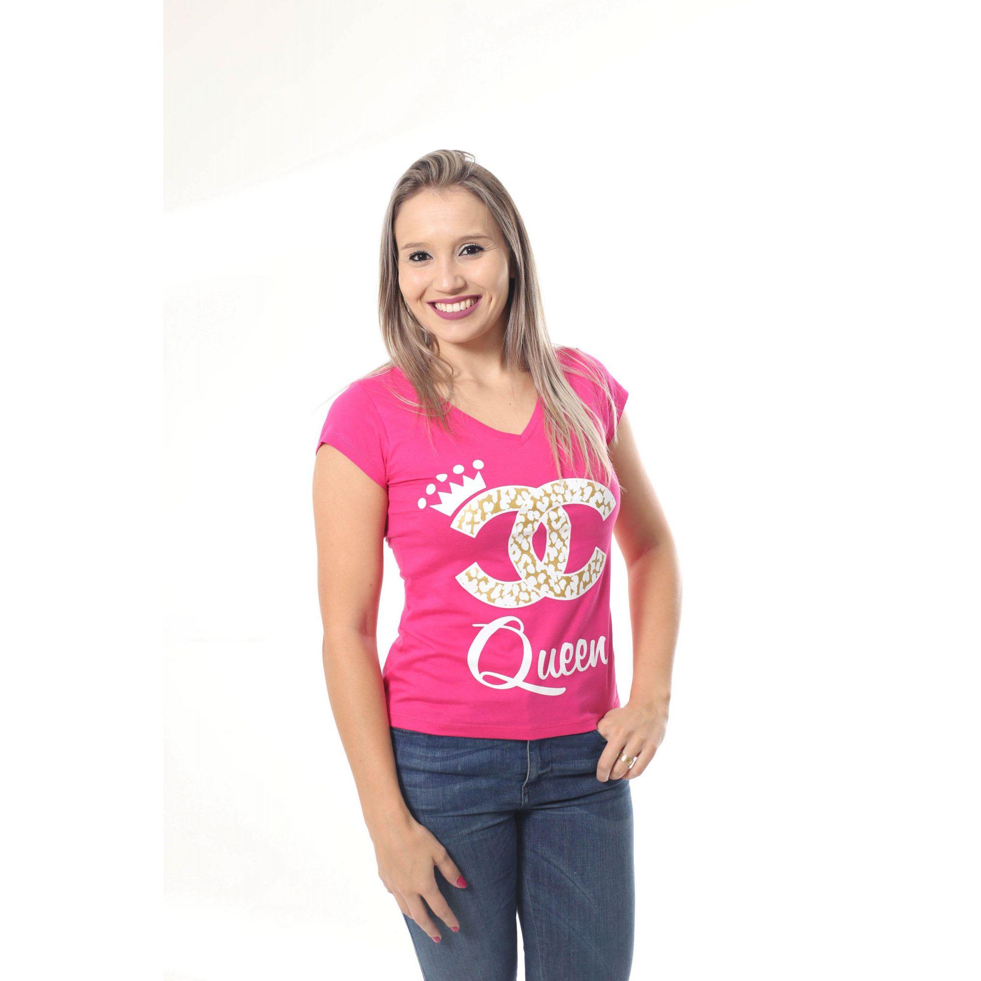 Camiseta Feminina Rainha