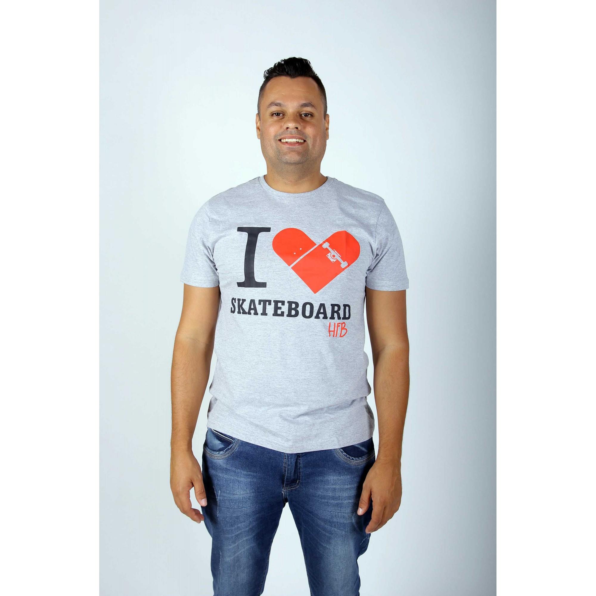 Camiseta I-Love Skate HFB