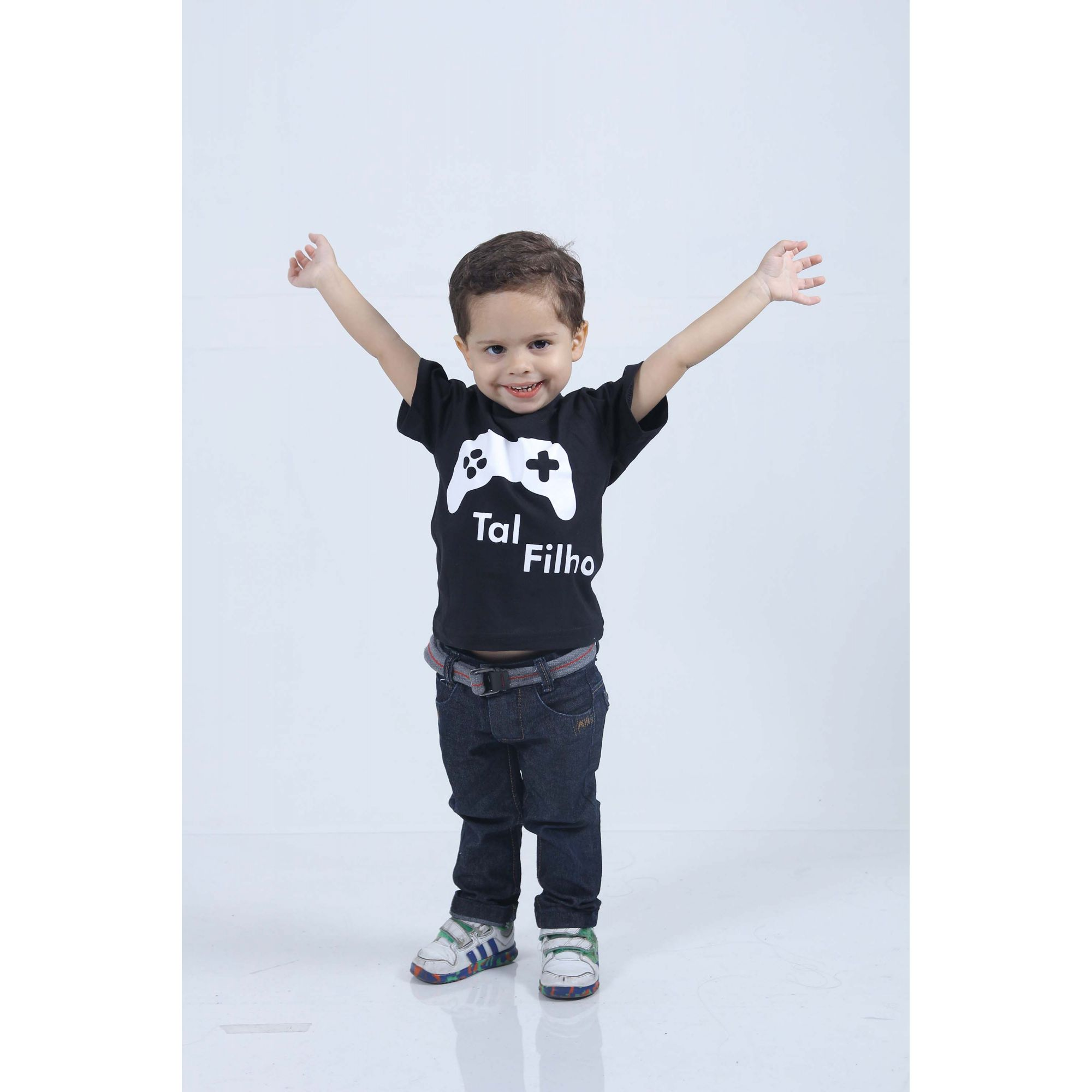 Camiseta Infantil Game ou Body de Bebê